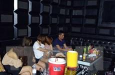 Hải Dương: Phát hiện nhóm thanh niên dùng ma tuý trong quán karaoke