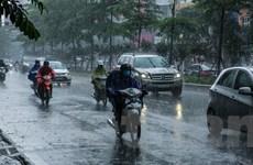 Hà Nội ngày nắng, chiều tối và đêm có mưa rào và dông
