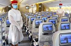 Emirates và Etihad Airways nối lại các chuyến bay quá cảnh