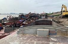 Hà Nội: Triệt phá 4 ổ nhóm khai thác cát trái phép trên sông Hồng