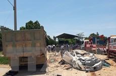 Bắt tạm giam tài xế gây tai nạn giao thông nghiêm trọng ở Thanh Hóa