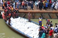 Chìm phà khiến hàng chục người thiệt mạng tại Bangladesh