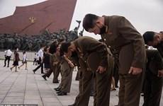 Người dân Triều Tiên tưởng nhớ cố lãnh tụ Kim Nhật Thành