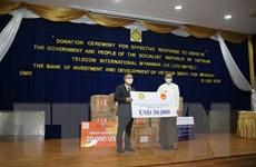 Việt Nam hỗ trợ Myanmar phòng chống đại dịch COVID-19