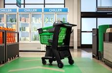 Amazon giới thiệu công nghệ xe đẩy hàng siêu thị thông minh