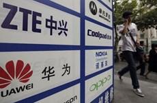 Mỹ áp đặt lệnh cấm liên quan đến 5 công ty công nghệ Trung Quốc