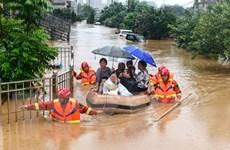 Trung Quốc tiếp tục nỗ lực ứng phó với lũ lụt nghiêm trọng