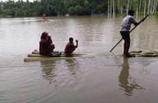 Lũ lụt và lở đất tiếp tục gây nhiều thiệt hại tại Bangladesh