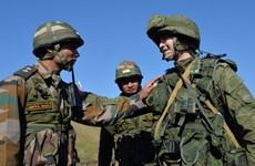 Nga, Ấn Độ tăng cường hợp tác trao đổi các lực lượng quân sự