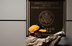 Trung Quốc tiếp quản trụ sở Tổng lãnh sự quán Mỹ ở Thành Đô