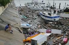 Bão Hanna đổ bộ vào Mexico, gây thiệt hại nghiêm trọng