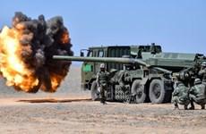 Trung Quốc: Lực lượng pháo binh quân khu Tây Tạng tập trận