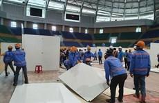 Đà Nẵng: Kiểm tra tiến độ xây dựng bệnh viện dã chiến Tiên Sơn
