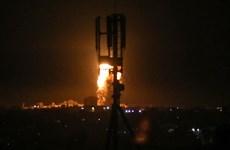 Israel không kích các mục tiêu của Hamas tại Dải Gaza