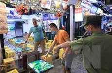 Phố cổ Hà Nội vắng bóng khách do quy định phòng chống dịch