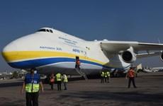 """""""Siêu máy bay vận tải"""" An-225 chở xe quân sự Mỹ tới Israel"""