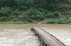 Mưa lớn kéo dài gây ngập cục bộ nhiều nơi ở Phú Thọ
