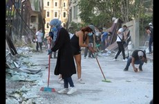 Người dân Liban đoàn kết vượt qua mất mát sau vụ nổ ở Beirut