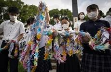 Nhật Bản: Nagasaki tổ chức lễ tưởng niệm 75 năm Mỹ ném bom nguyên tử