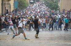 Chính quyền Liban đứng trước sức ép nặng nề từ làn sóng biểu tình