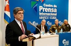 Cuba phản đối Mỹ tăng cường siết chặt các biện pháp cấm vận