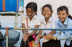 LHQ: 43% trường học trên thế giới thiếu các điều kiện rửa tay cơ bản