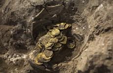 Phát hiện kho tiền vàng có niên đại hơn 1.000 năm tại Israel
