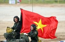Đội tuyển xe tăng Việt Nam thi đấu thành công tại Army Games 2020