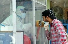 Ấn Độ có số ca nhiễm mới COVID-19 trong một ngày cao nhất thế giới