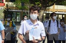 Đà Nẵng: Các thí sinh yên tâm trong buổi thi đầu tiên của đợt hai