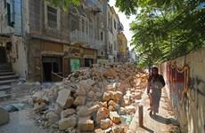 Lực lượng cứu hộ tiếp tục tìm kiếm tia hy vọng sau vụ nổ ở Beirut