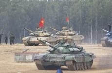 Đội tuyển xe tăng Việt Nam lập công lớn tại Army Games 2020