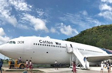 Mô hình càphê máy bay hút khách tại Thái Lan trong mùa dịch bệnh