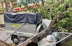 Thừa Thiên-Huế: Bão số 5 làm một người chết, gây nhiều thiệt hại