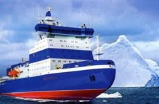 Nga điều tàu phá băng lớn nhất thế giới tới Bắc Cực