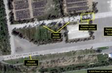 38 North: Triều Tiên đưa tên lửa đến khu huấn luyện diễu binh