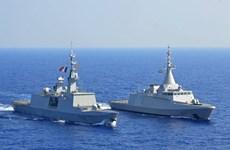 Hải quân Ai Cập và Pháp tập trận chung ở Địa Trung Hải