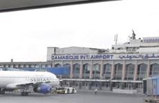 Syria mở cửa sân bay Damascus, khôi phục đường bay quốc tế