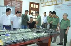 Công an Lào Cai bắt giữ hàng trăm nghìn viên ma túy tổng hợp