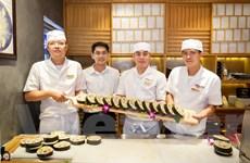 Quảng bá văn hóa ẩm thực Nhật Bản qua lễ hội làm Maki Sushi khổng lồ