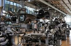 Sản xuất công nghiệp của Đức bất ngờ sụt giảm trong tháng Tám