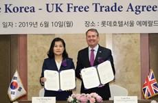 Hàn Quốc, Anh nhất trí duy trì quan hệ thương mại sau Brexit