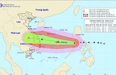 Bão số 9 vào Biển Đông với sức gió mạnh cấp 12, giật cấp 15