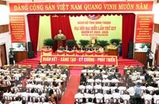 Đại hội Đảng bộ Ninh Thuận: Phấn đấu trở thành tỉnh phát triển khá
