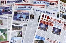 Truyền thông Lào đưa tin đậm nét về Hội nghị cấp cao ASEAN 37