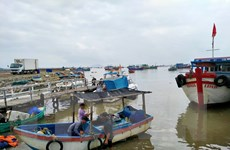 Bão số 13 dự báo đi vào đất liền từ Hà Tĩnh đến Thừa Thiên-Huế