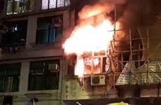 Hỏa hoạn tại nhà hàng ở Hong Kong, 7 người thiệt mạng