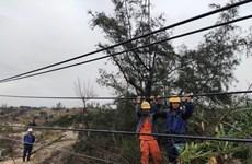 Quảng Bình: Bão số 13 làm 8 người bị thương, tốc mái nhiều nhà cửa