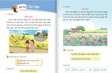 Chỉnh sửa sách giáo khoa Tiếng Việt lớp 1 bộ Cánh Diều