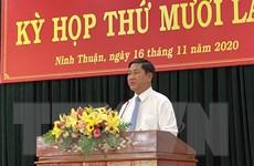 Ninh Thuận kiện toàn các chức danh lãnh đạo thuộc UBND tỉnh